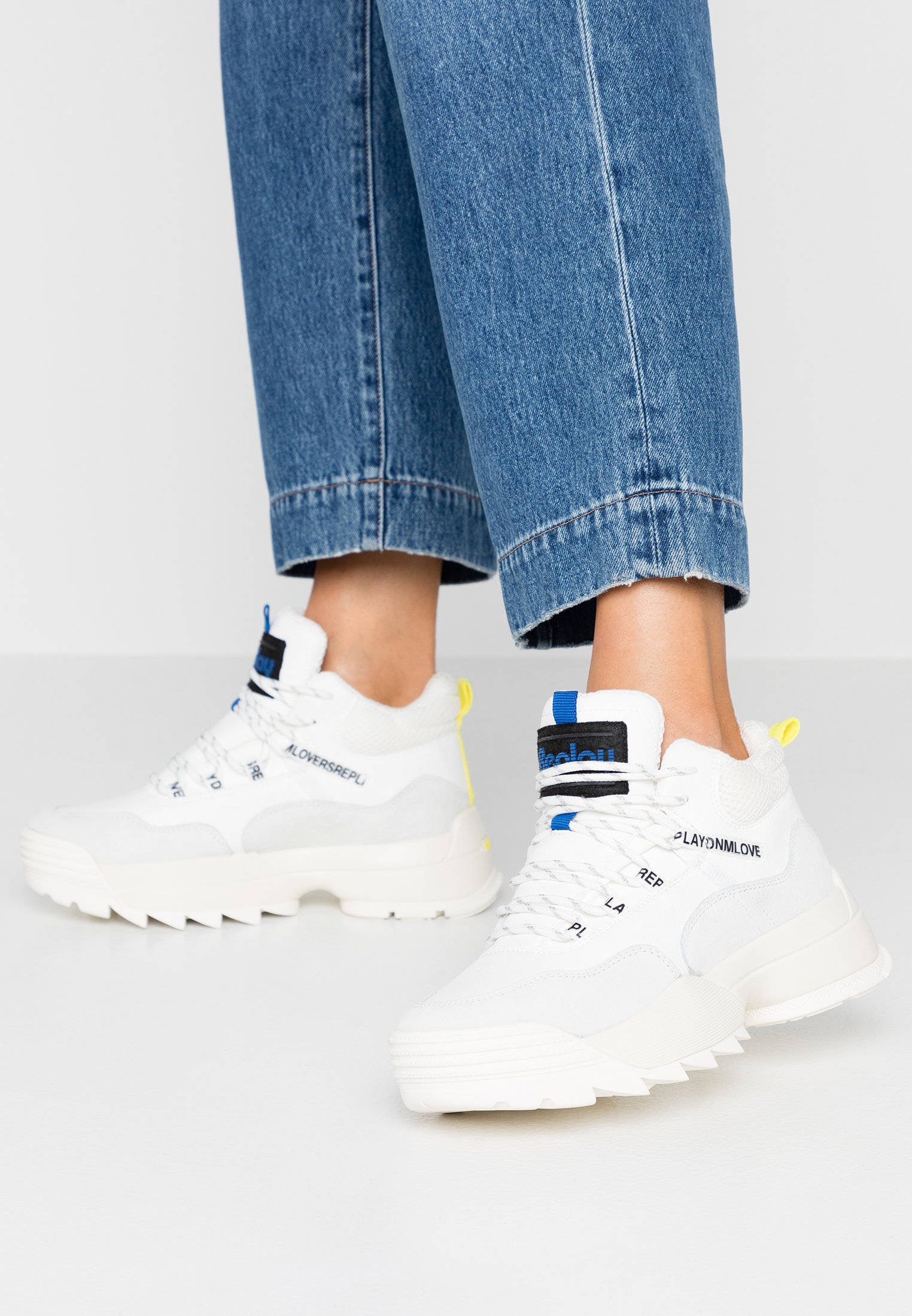 Replay ANY - Sneakers alte white