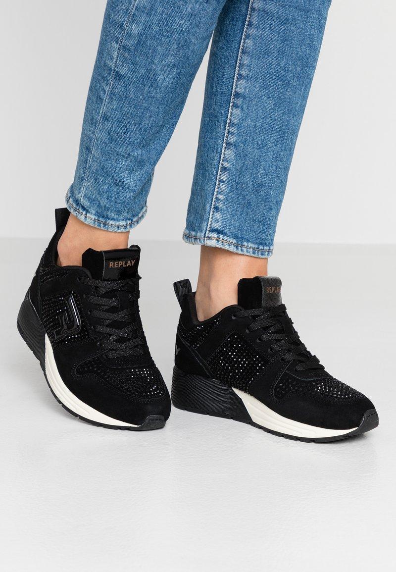 Replay - KEELING - Zapatillas - black