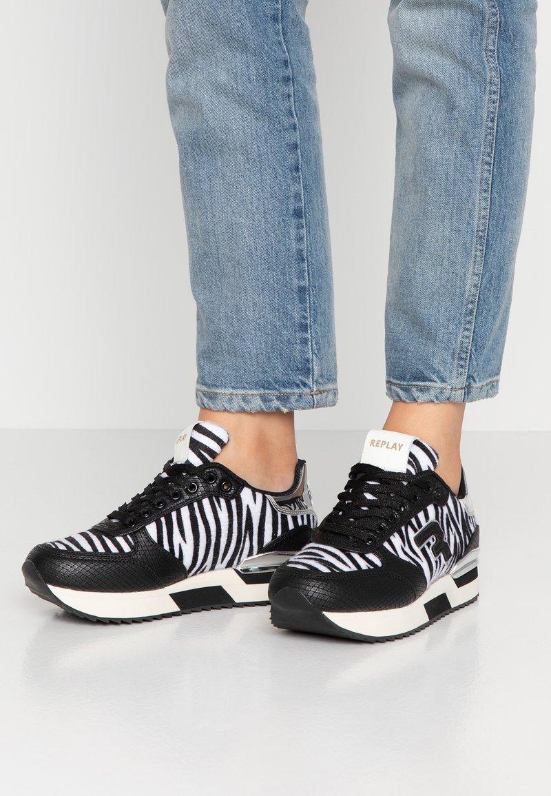 Replay - WILLANIE - Sneakers laag - black