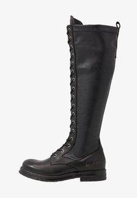 Replay - MIRANDA - Stivali con i lacci - black - 1