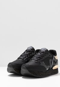 Replay - PALMERS - Sneakers basse - black/platin - 4