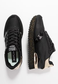 Replay - PALMERS - Sneakers basse - black/platin - 3
