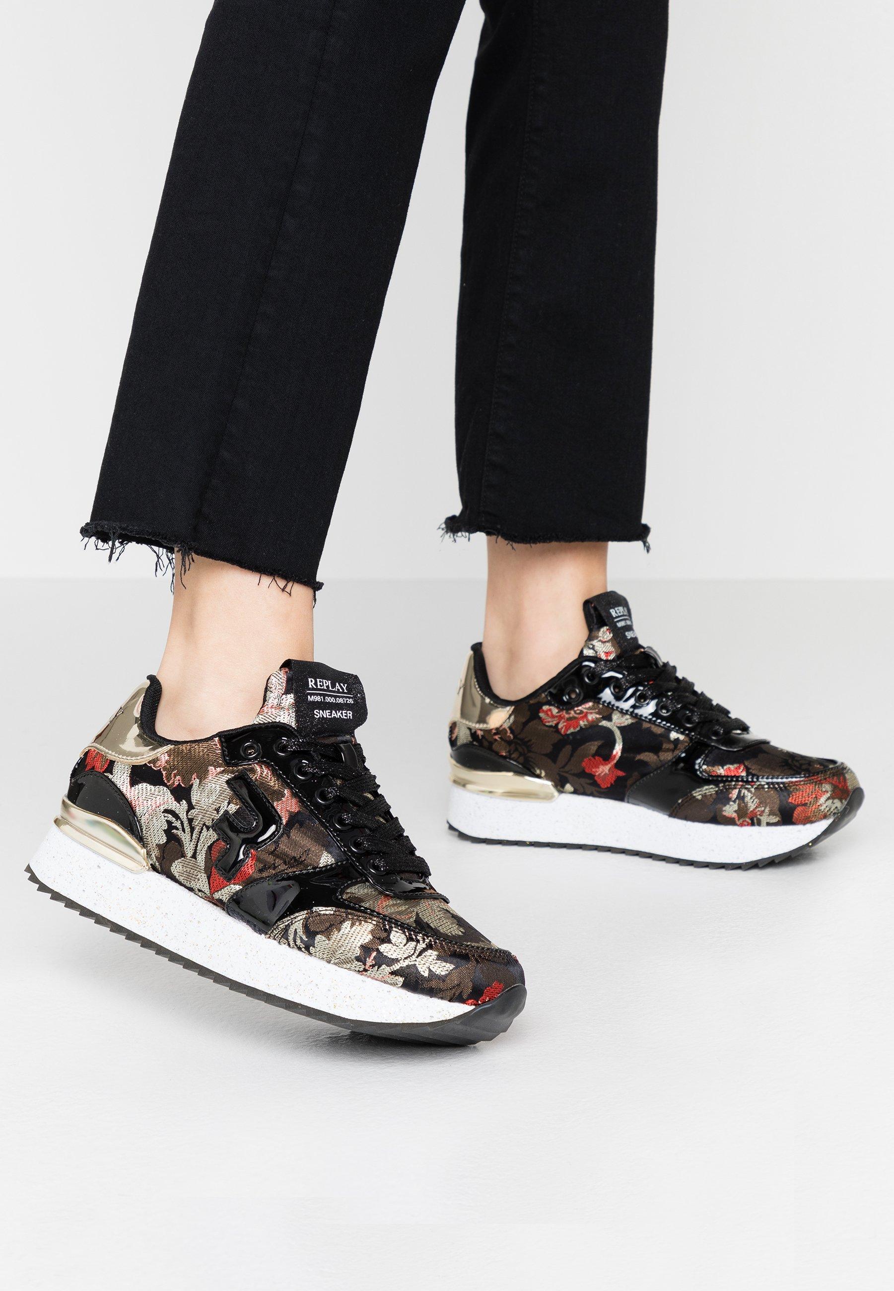 Svarta Replay Sneakers | Dam | Köp damsneakers online hos