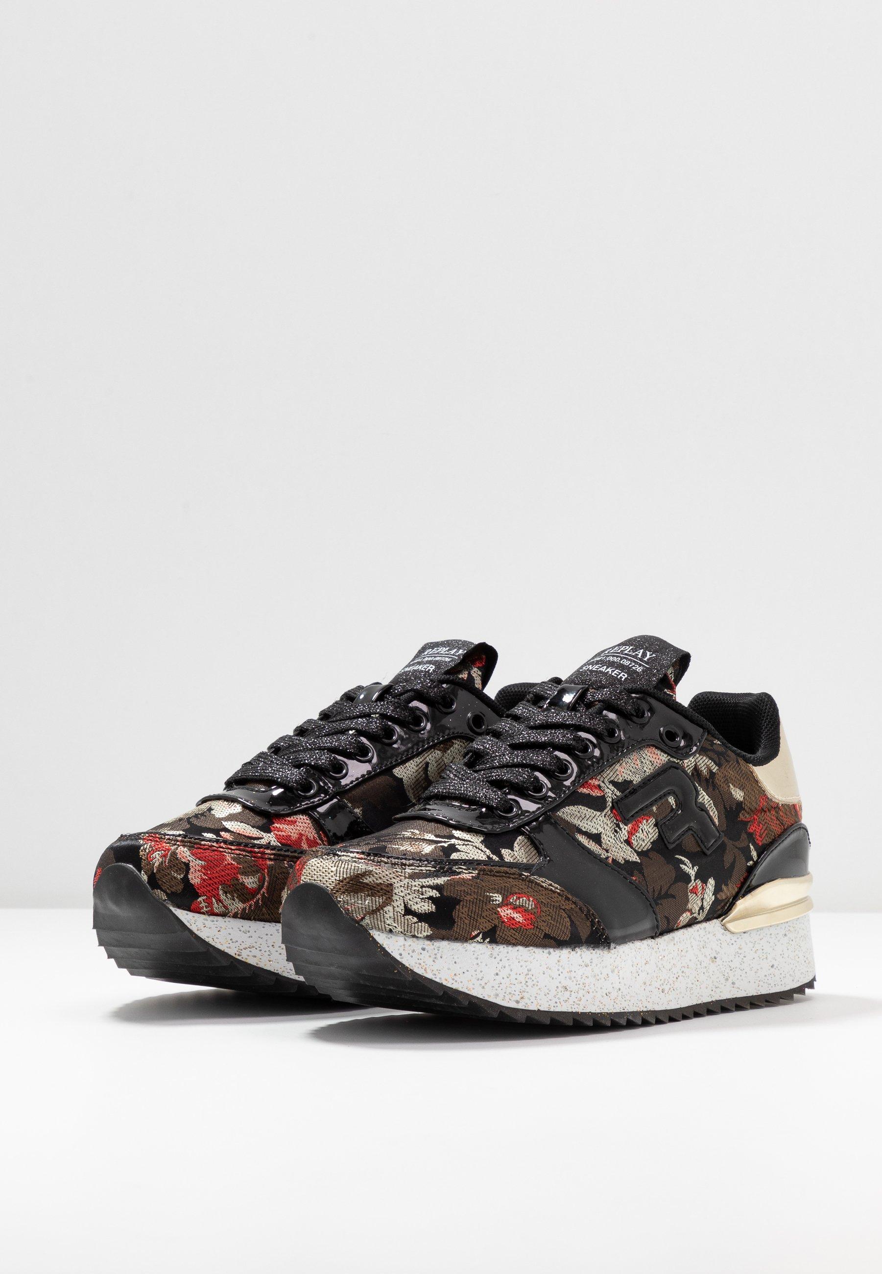 Replay REDBANK - Sneakersy niskie - black