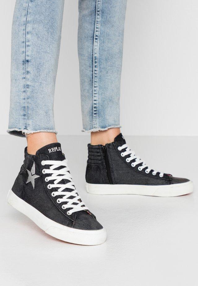 LAWNE - Sneakers hoog - black