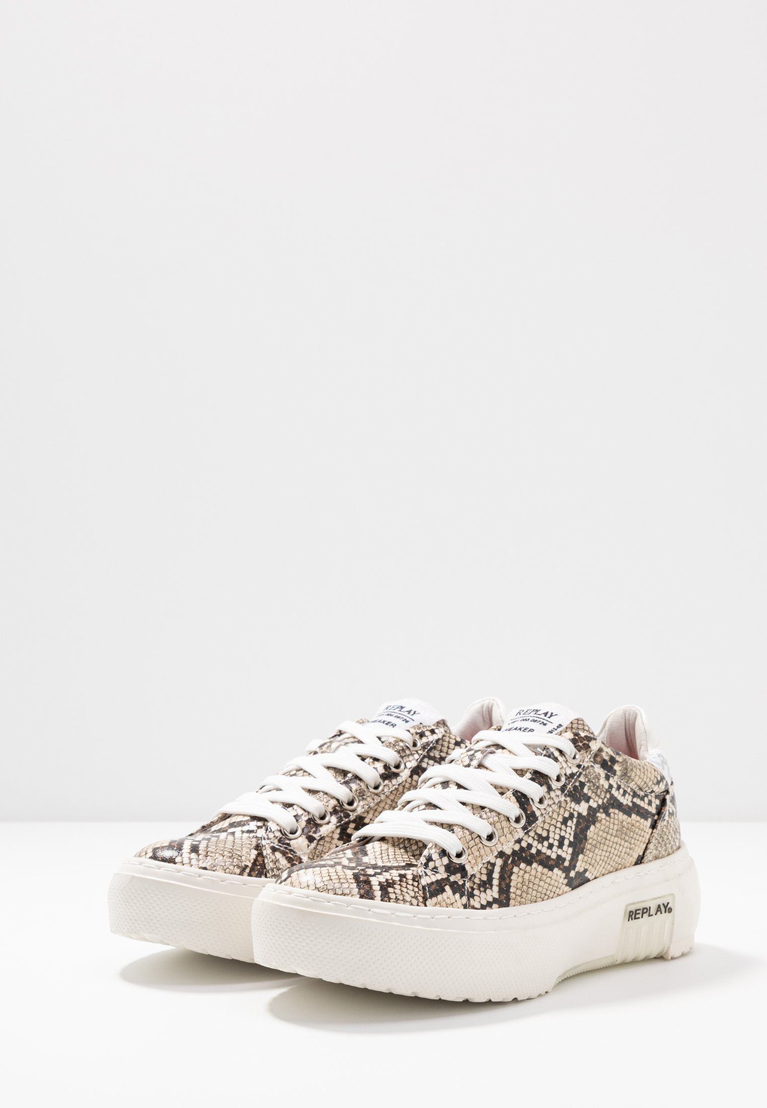 Replay LEMMON - Sneakersy niskie - beige