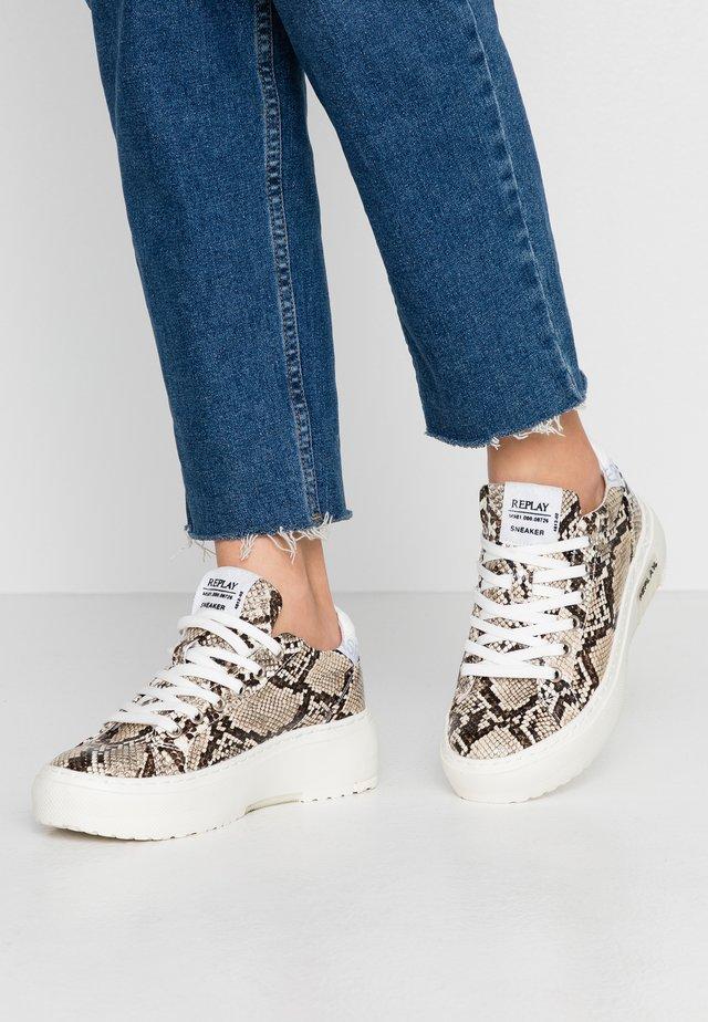 LEMMON - Sneakersy niskie - beige