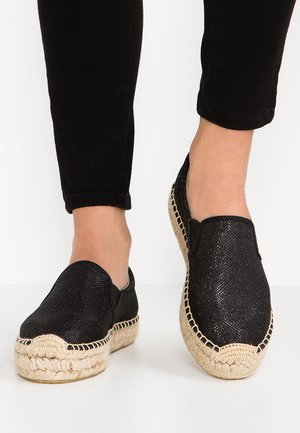 LAWTON - Espadrille - black