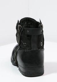 Replay - CLUTCH - Nauhalliset nilkkurit - black - 3