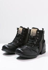 Replay - CLUTCH - Nauhalliset nilkkurit - black - 2
