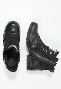 Replay - CLUTCH - Nauhalliset nilkkurit - black - 1