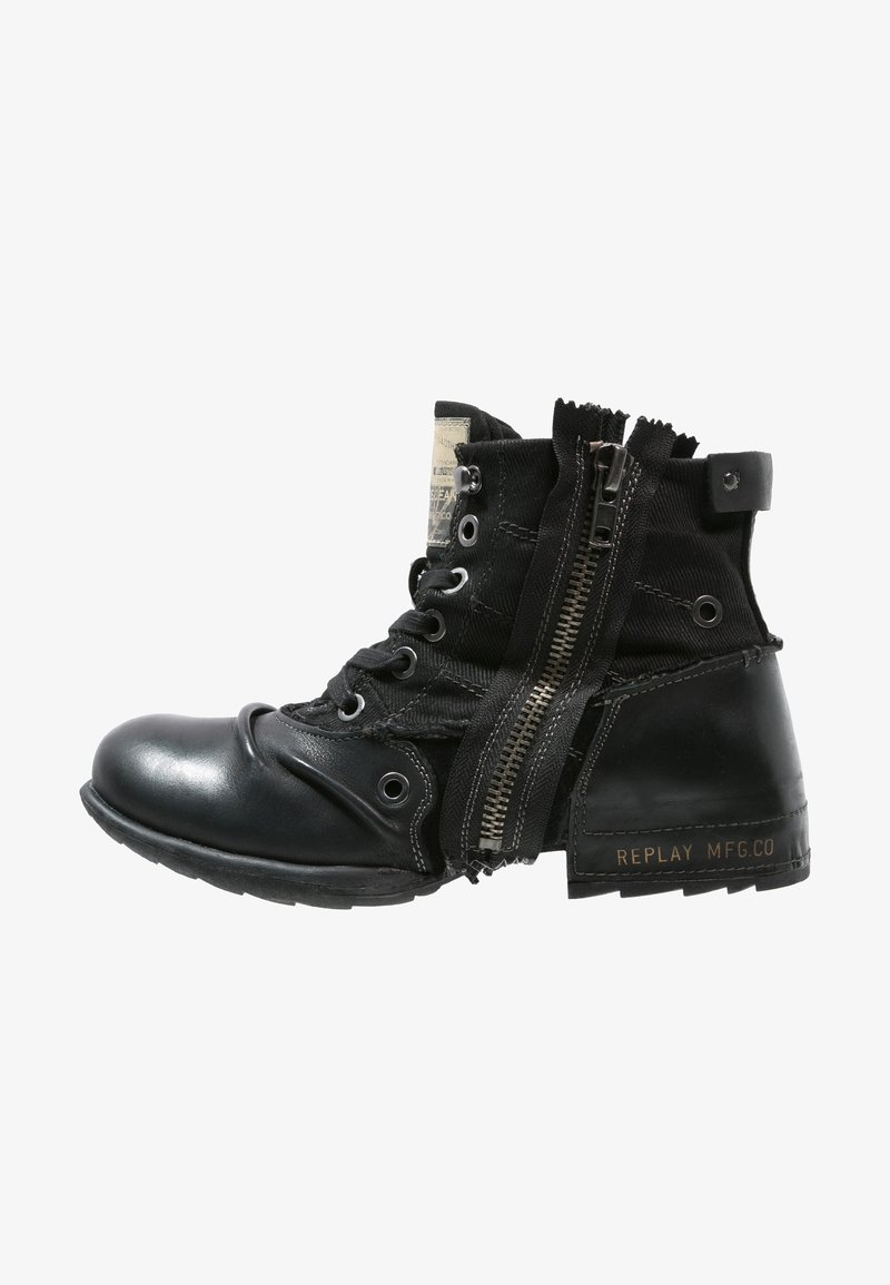 Replay - CLUTCH - Veterboots - black