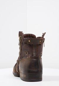 Replay - CLUTCH - Veterboots - dark brown - 3