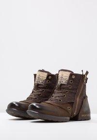 Replay - CLUTCH - Veterboots - dark brown - 2