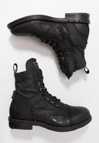 Replay - FINVOI - Bottines à lacets - black - 1