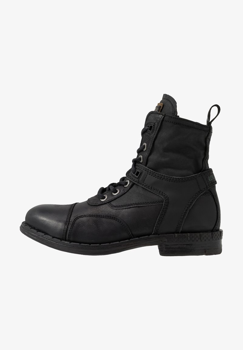 Replay - FINVOI - Bottines à lacets - black
