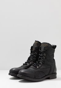 Replay - FINVOI - Bottines à lacets - black - 2