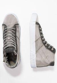 Replay - DOCK - Sneakers alte - grey - 1