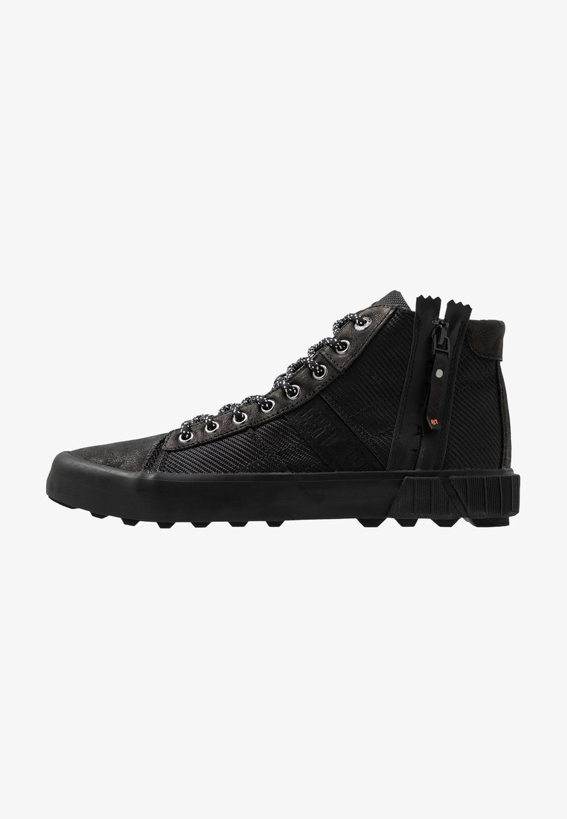 Replay - BASED - Sneakersy wysokie - black