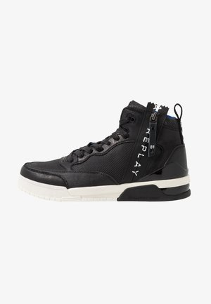 MISSION - High-top trainers - black