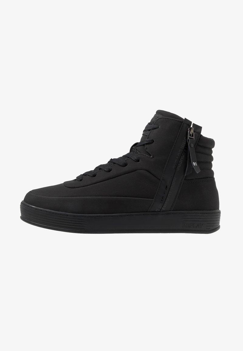 Replay - CHAPEL - Sneakers alte - black