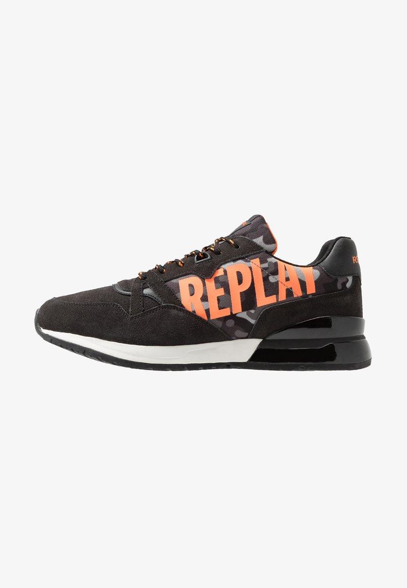 Replay - UNDERT - Trainers - grey/orange