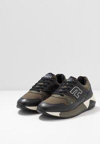Replay - WHITESTREAM - Sneakers - black/military green - 2