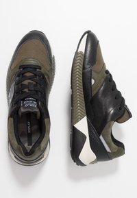 Replay - WHITESTREAM - Sneakers - black/military green - 1