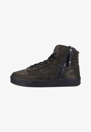 Sneakers hoog - green