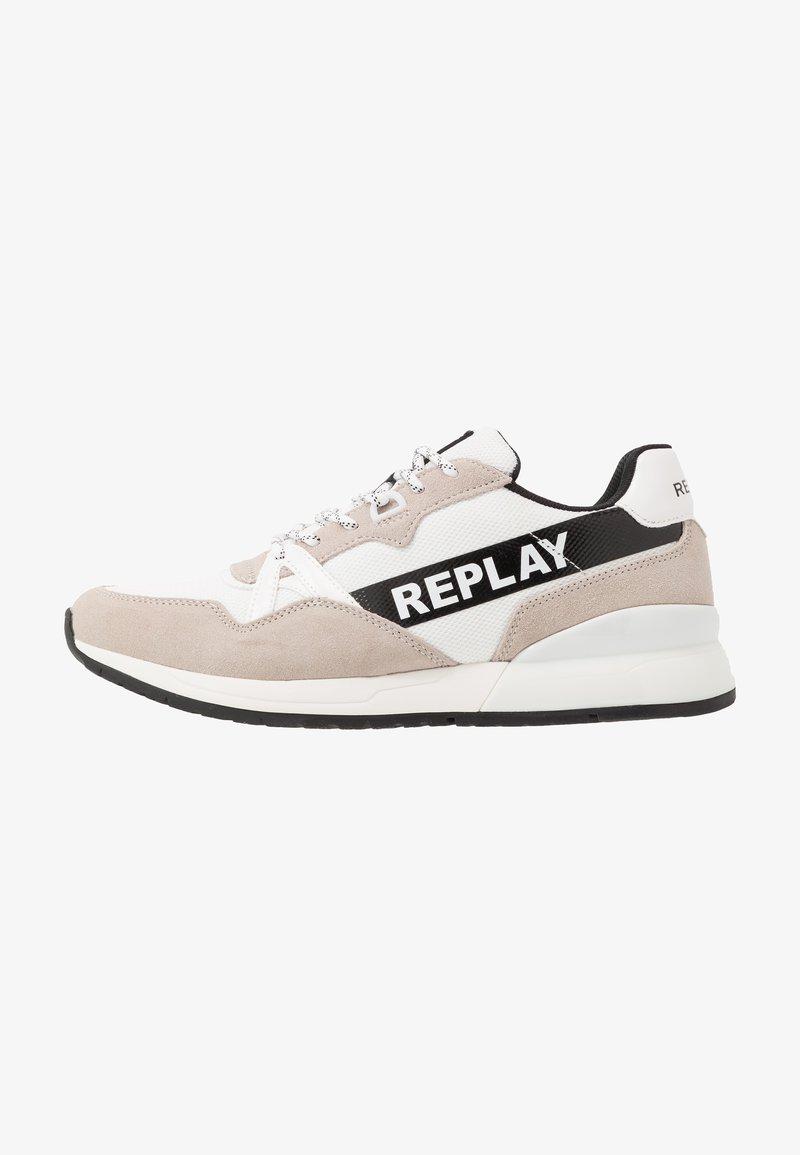 Replay - LIMERIK - Sneakersy niskie - white/black