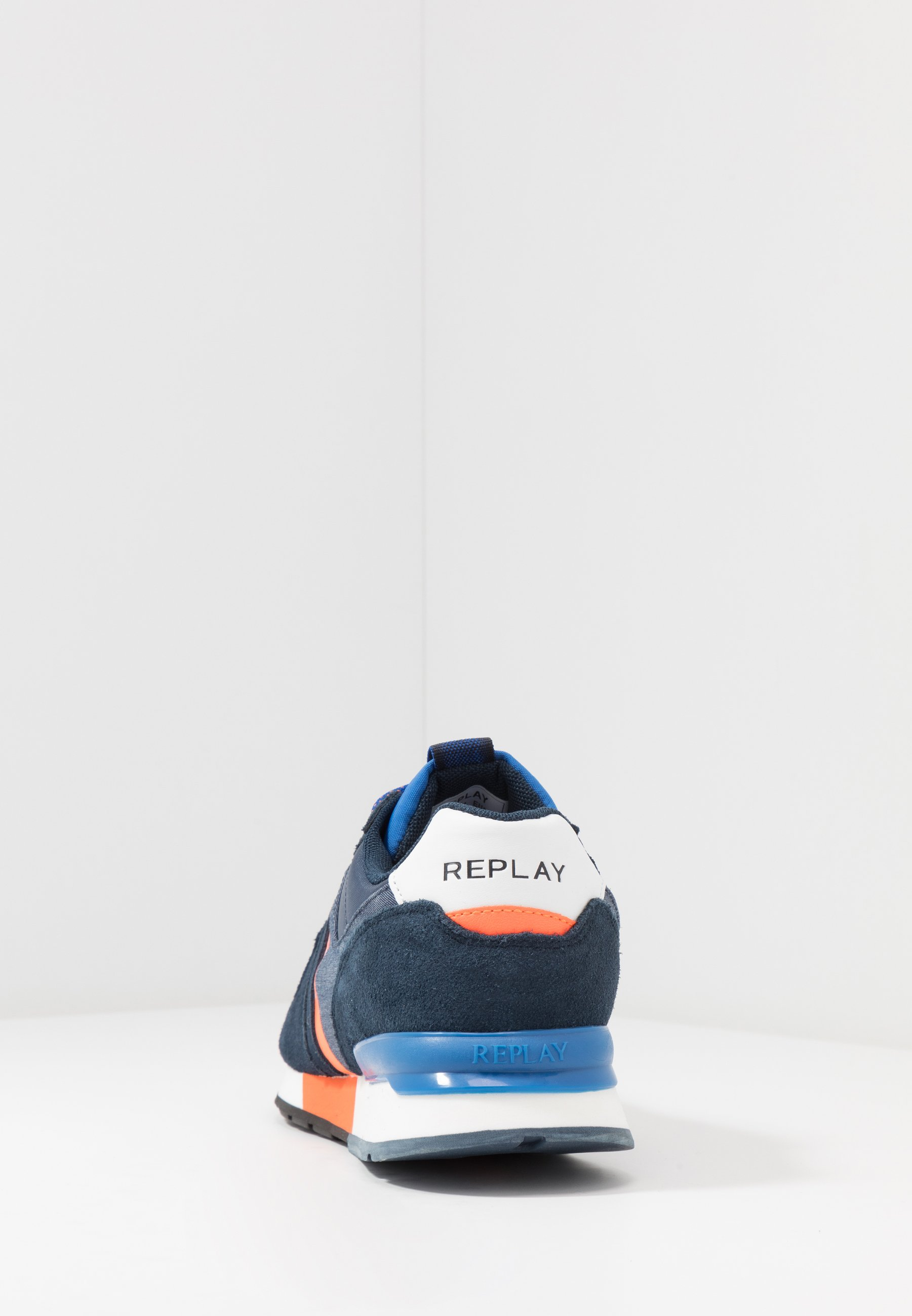 Replay Tigher - Sneakers Navy/orange