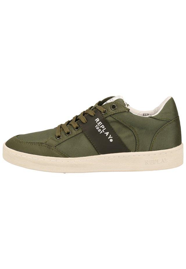 Sneaker low - mil grn 039