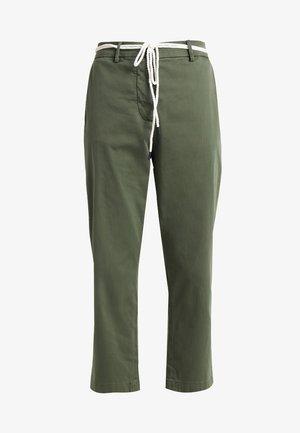 PANTS - Stoffhose - combat green