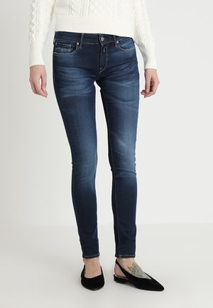 LUZ HYPERFLEX - Jeansy Skinny Fit - dark-blue denim