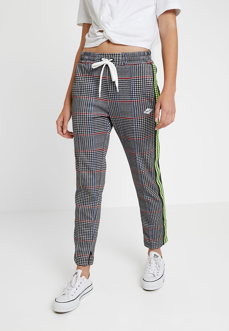 Replay - PANTS - Tracksuit bottoms - grey/black/blue/red