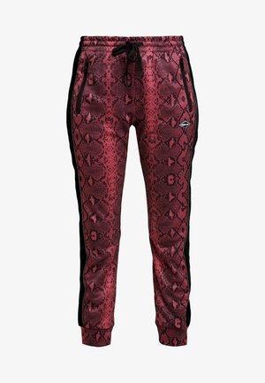 PANTS - Pantaloni sportivi - red/black