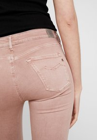 Replay - NEW LUZ - Jeans Skinny Fit - light pink - 5