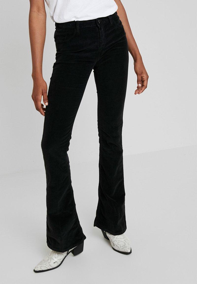 Replay - STELLA - Spodnie materiałowe - black