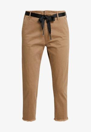 PANTS - Spodnie materiałowe - earth