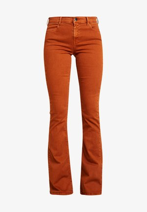 STELLA FLARE - Jeans Bootcut - caramel