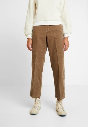 PANTS - Trousers - hazelnut