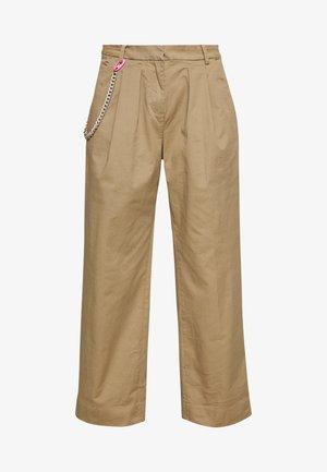 PANTS - Spodnie materiałowe - beige