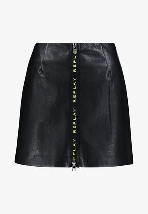SKIRT - Spódnica trapezowa - black