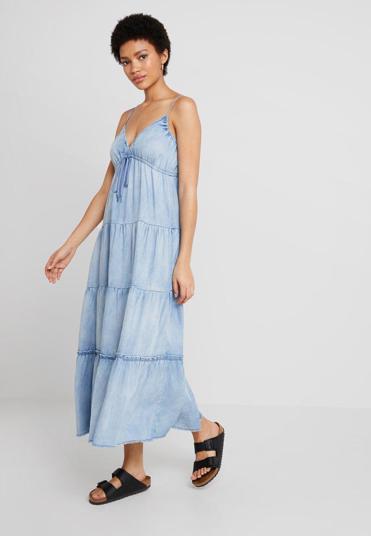 Replay - DRESS - Maxikleid - blue denim