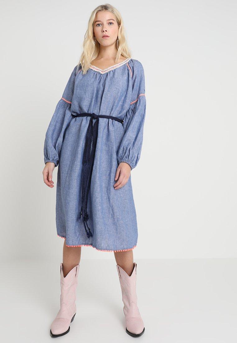 Replay - DRESS - Jeanskleid - light blue