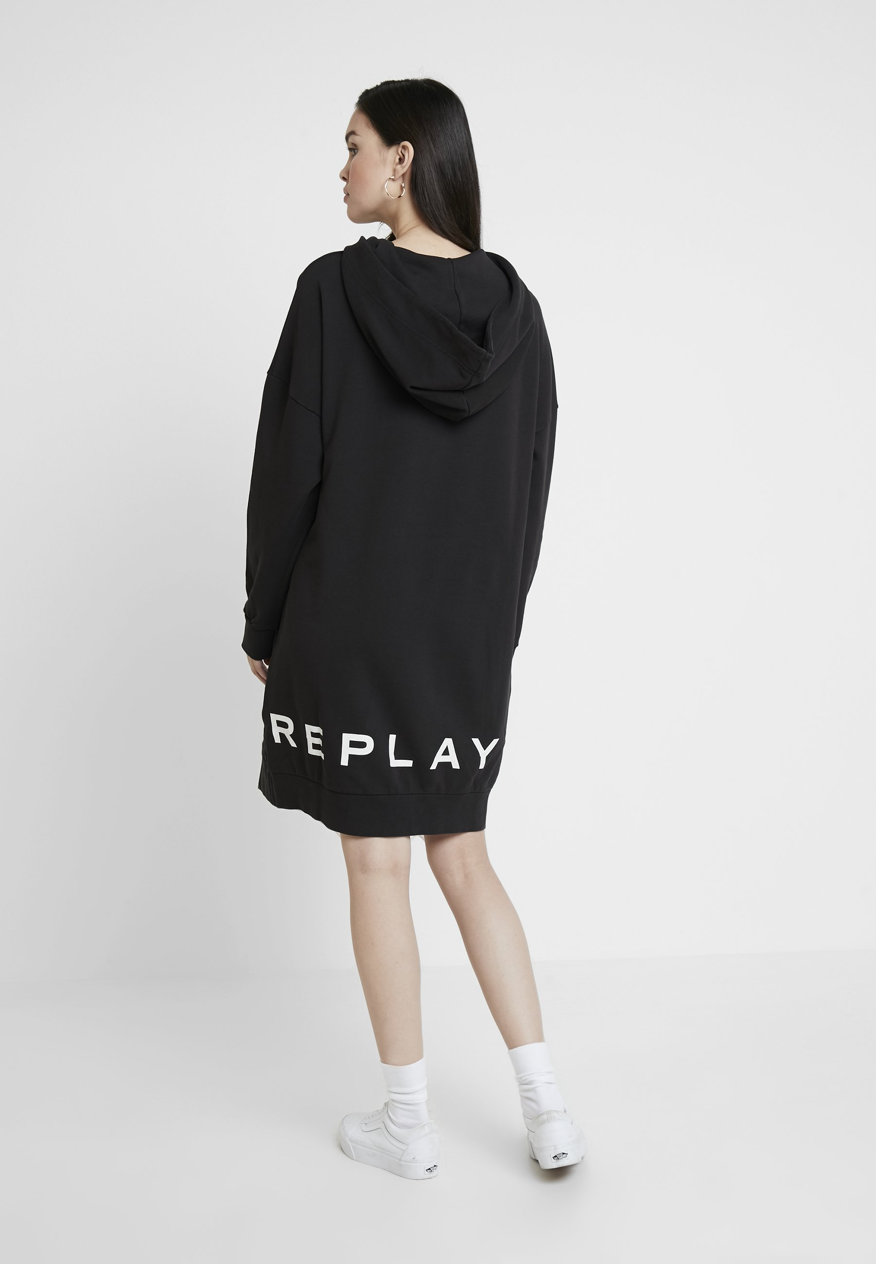 D'étéBlack Replay Replay Robe Robe Robe Replay D'étéBlack ul3F1KcTJ