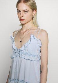 Replay - DRESS - Vestito lungo - light blue - 4