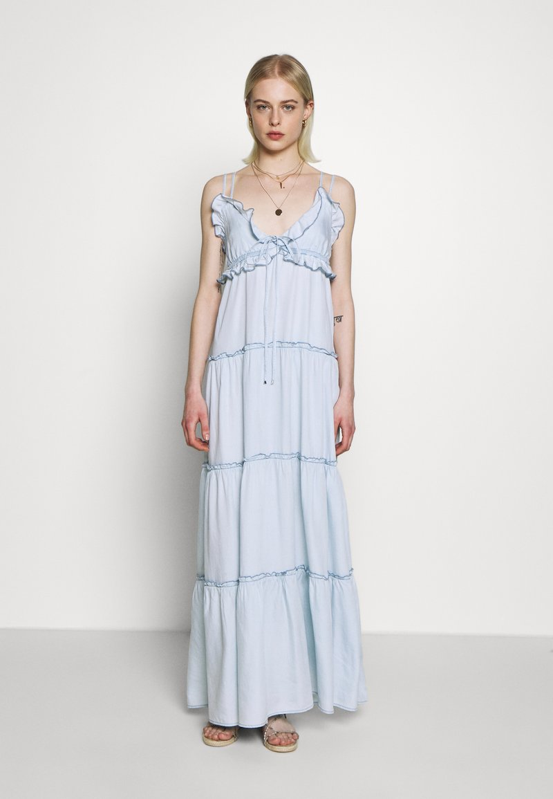 Replay - DRESS - Vestito lungo - light blue