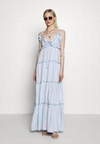 Replay - DRESS - Vestito lungo - light blue - 1