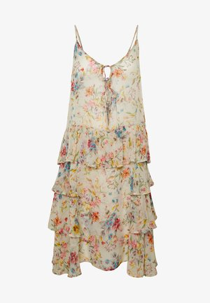 DRESS - Freizeitkleid - beige/multi-coloured